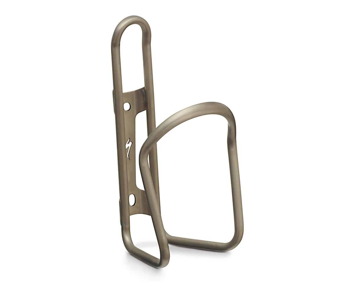 Specialized E Cage Titanium Bottle Cage 6.0 (Brushed Titanium)