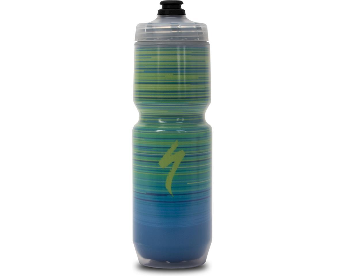 Specialized Purist Insulated Chromatek MoFlo 23oz - Speed Blur (Green/Blue) (23 OZ)