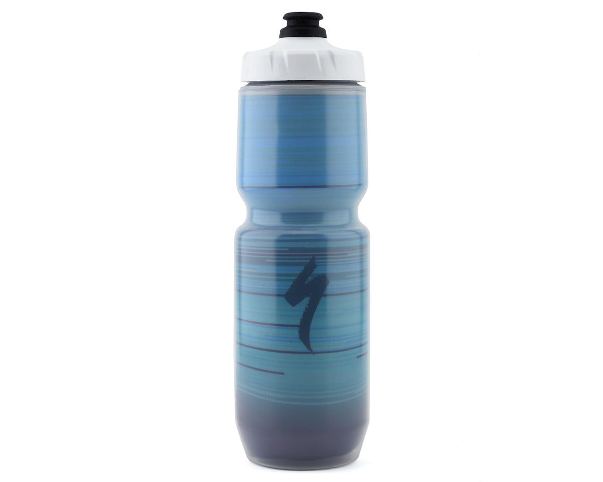 Specialized Purist Insulated MoFlo Water Bottle (Blue Speed Blur) (23oz)
