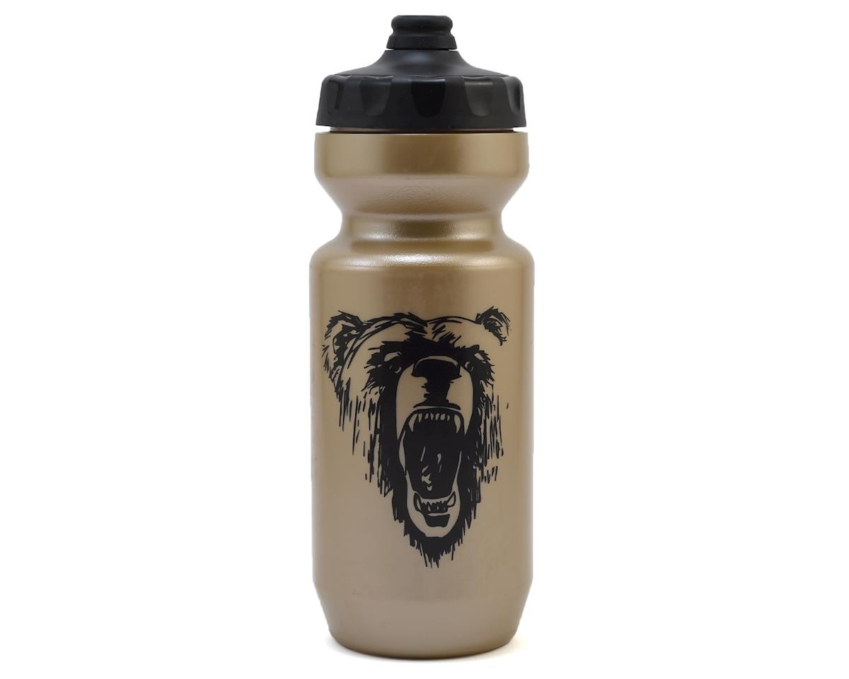 Specialized Purist Fixy Water Bottle (Gold/Black California Bear) (22oz)