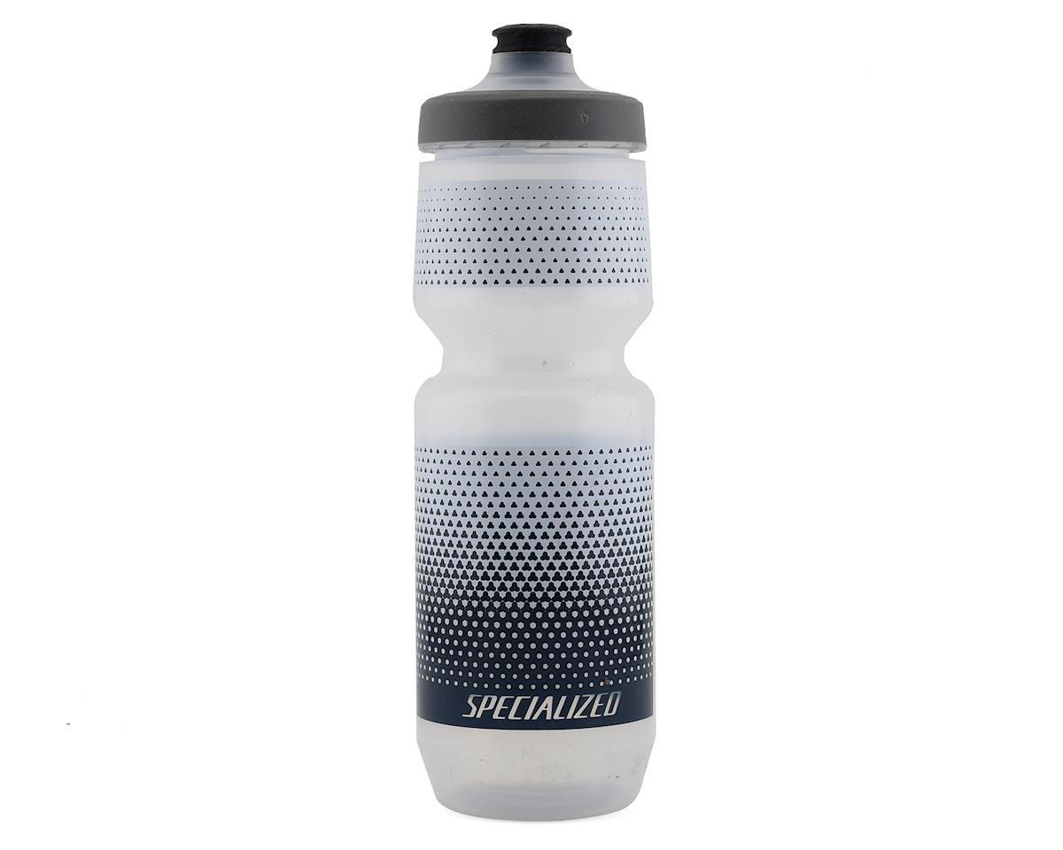 Specialized Purist WaterGate Bottle (Translucent/Blue) (26 oz)