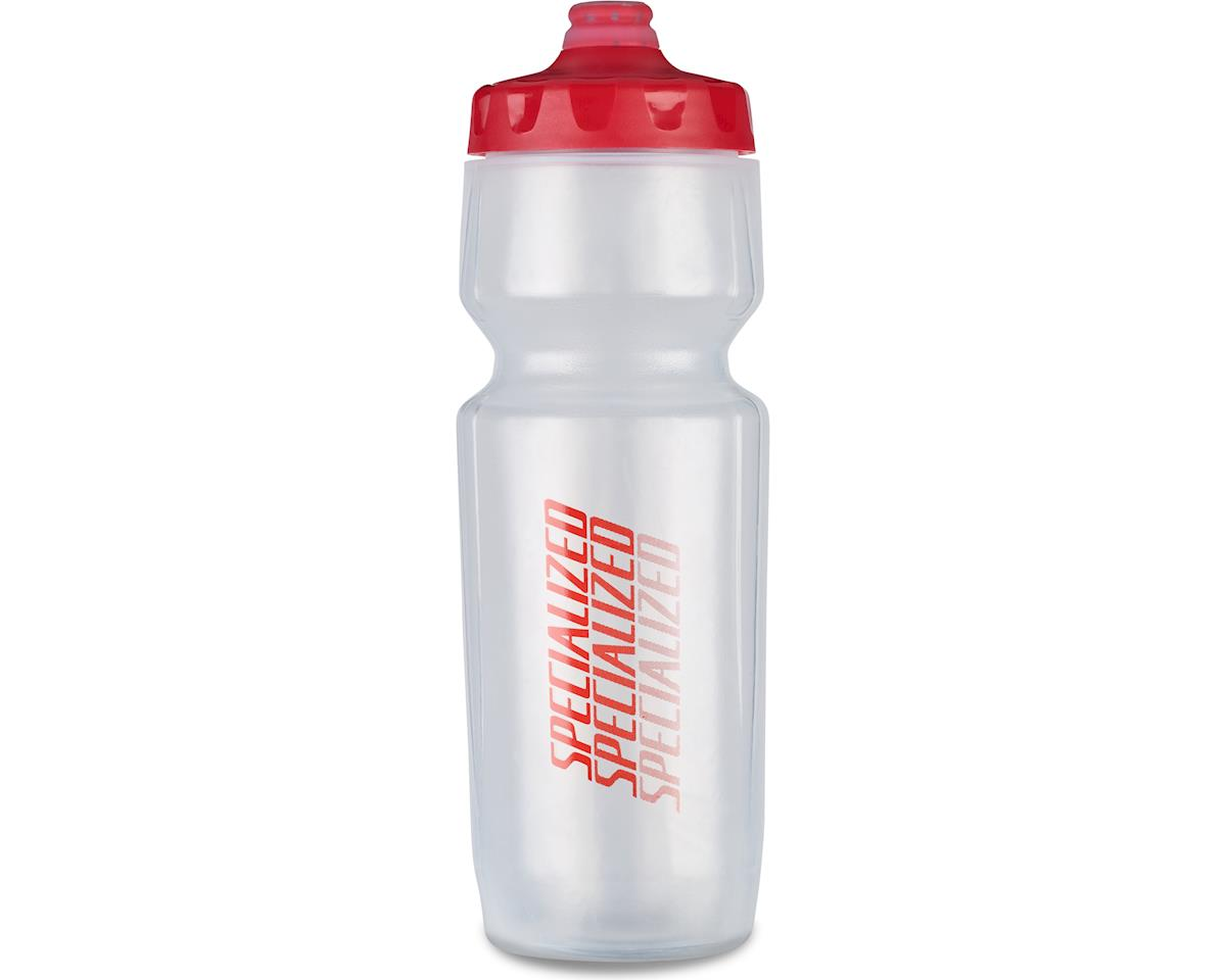 Specialized Purist Hydroflo Fixy Water Bottle (Translucent/Red) (23oz)