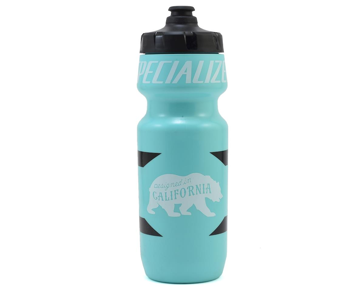 Specialized Big Mouth 24oz Water Bottle (Turquoise/Black Design Bear) (24 OZ)