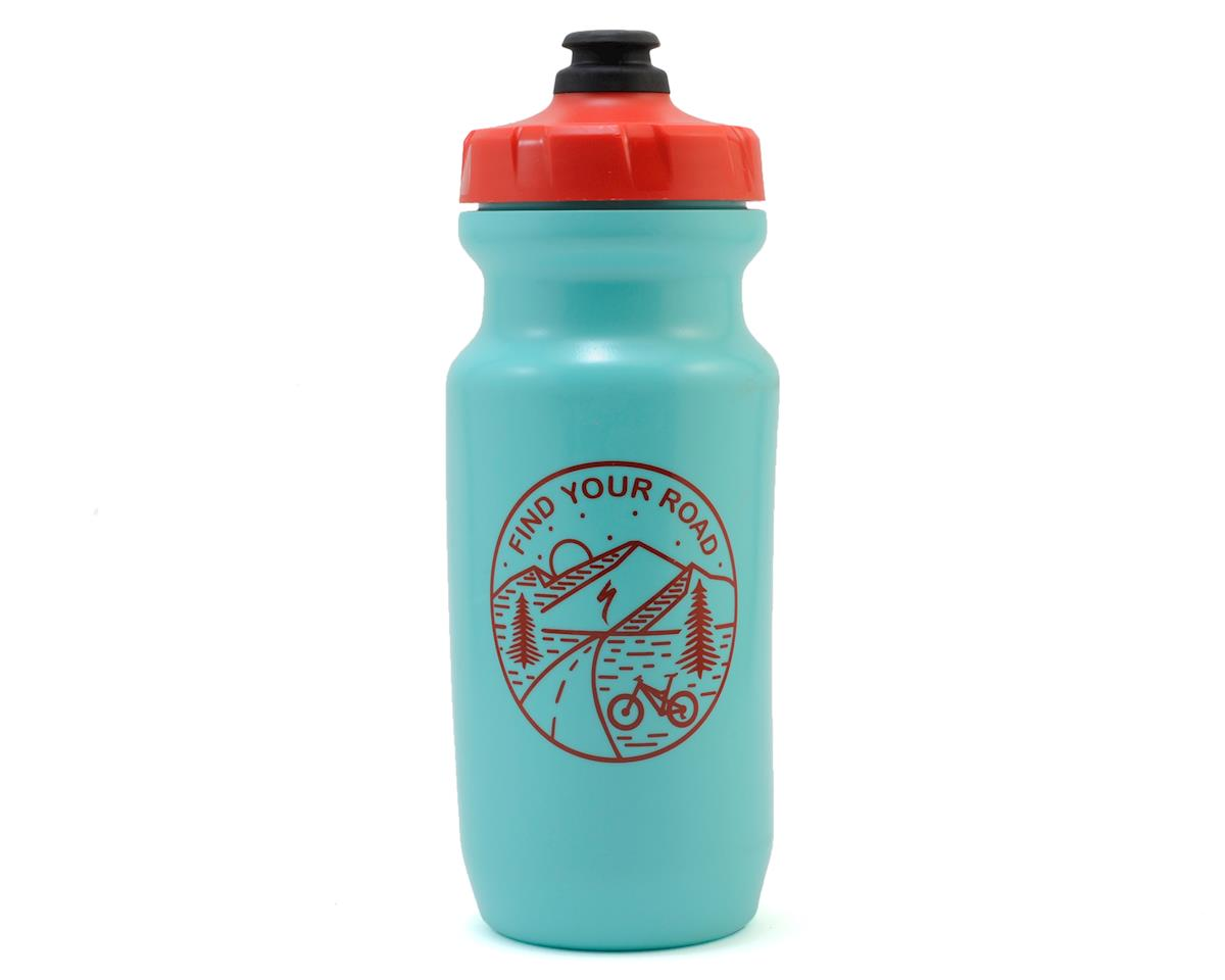"Specialized Little Big Mouth ""Find Your Road"" (Turquoise/Red) (21oz)"