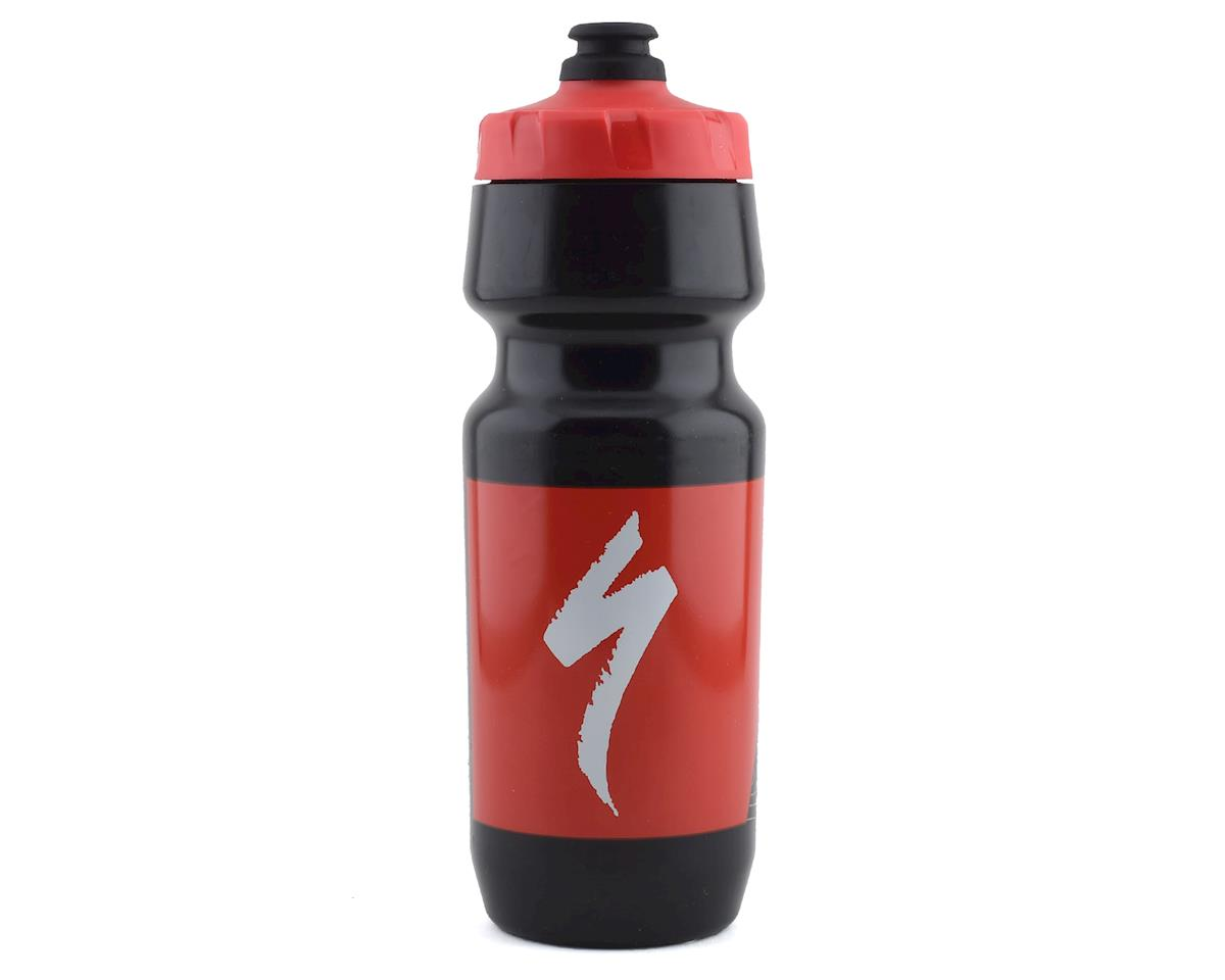 Specialized Big Mouth Water Bottle (Black/Red Topo Block) (24oz) | relatedproducts