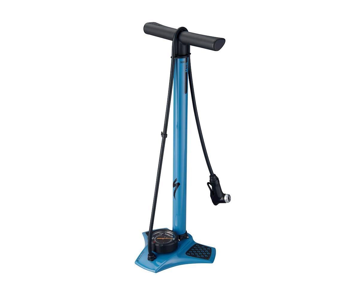 Specialized Air Tool MTB Floor Pump (Blue)