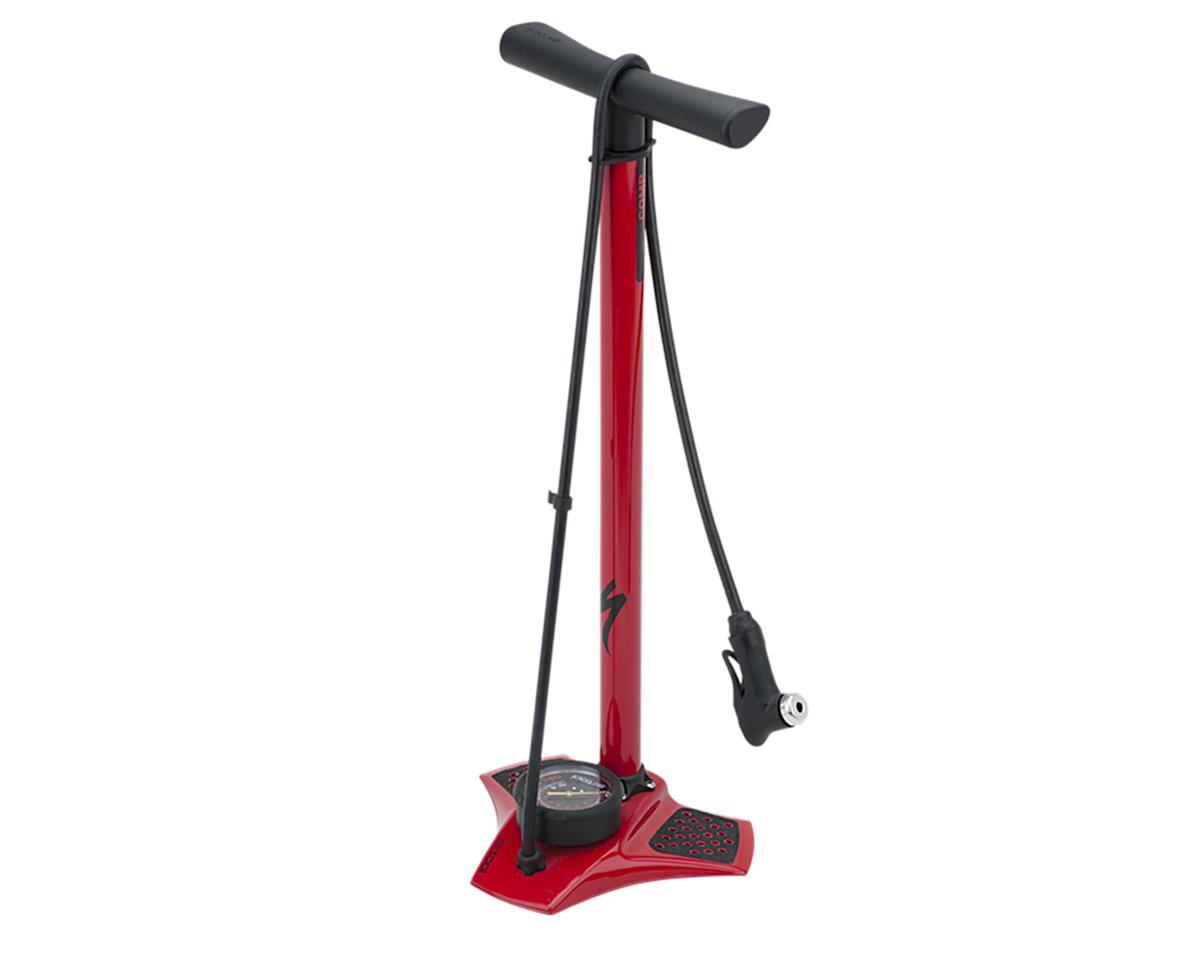 Specialized Air Tool Comp Floor Pump (Red)