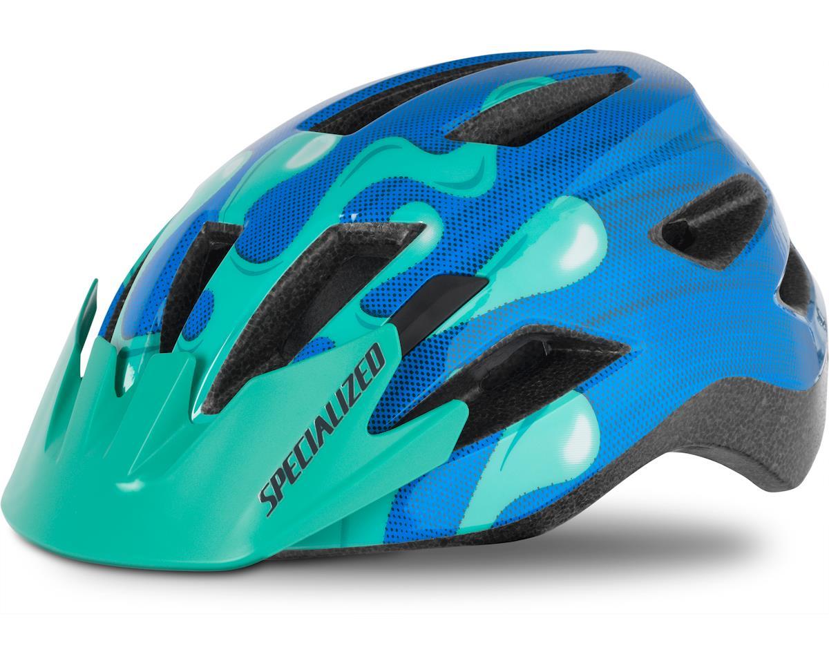 Specialized Shuffle Helmet (Neon Blue/Acid Mint Slime) (Youth) (Standard Buckle)