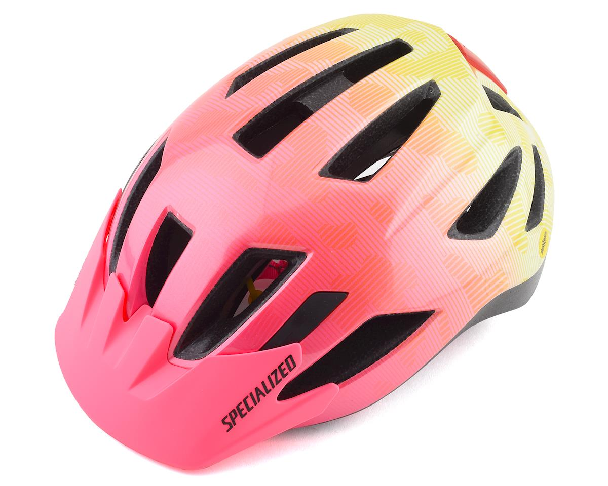 Specialized Shuffle Youth LED w/ MIPS (Yellow/Acid Pink Terrain)