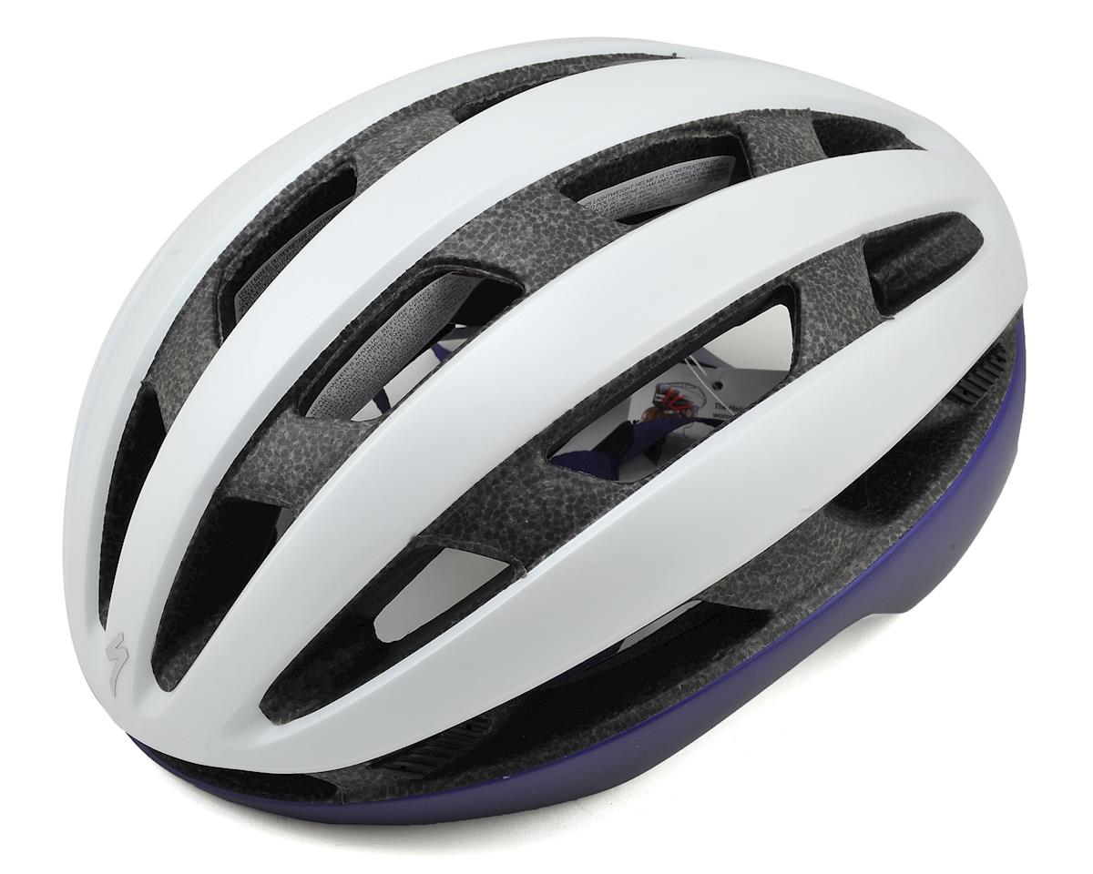 Specialized Airnet Women's Helmet (Light Grey/Indigo)