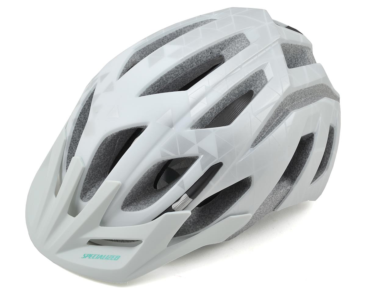 Specialized Andorra Women's MTB Helmet (White/Emerald Green)