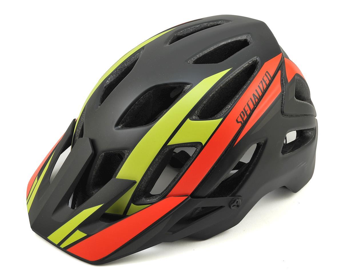 Specialized 2017 Ambush MTB Helmet (Red/Hyper Green Speed Streak)