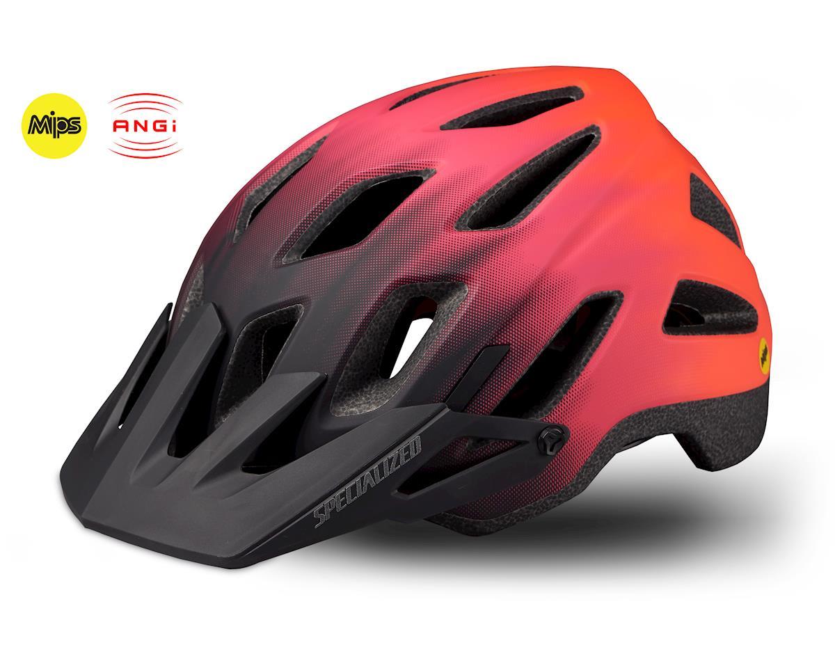 Specialized Ambush Comp Helmet w/ ANGi (Acid Lava/Acid Purple)