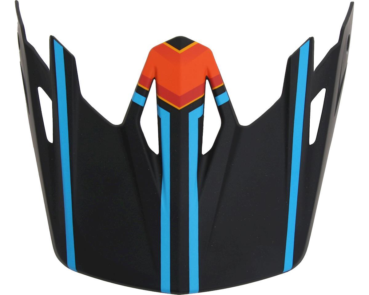 Specialized Dissident Comp Visor (MX Orange/Neon Blue Tracer) (ONE SIZE)