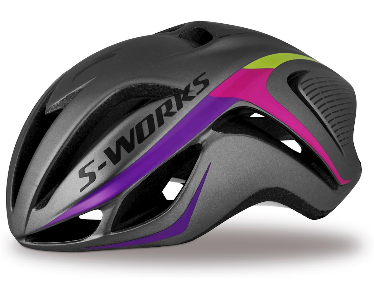 Specialized S-Works Women's Evade (Charcoal/Fuchsia) (S)