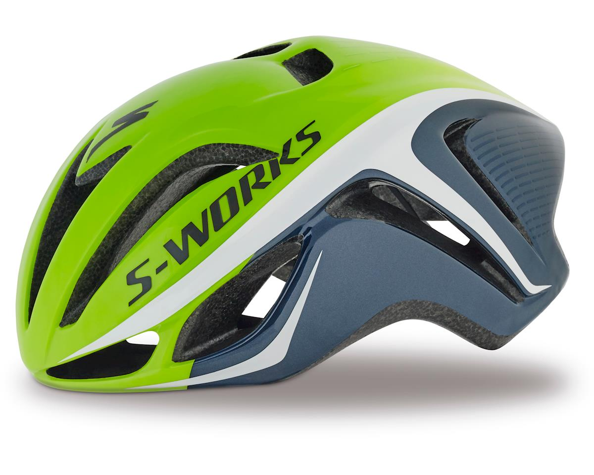 Specialized S-Works Evade (Hyper Green/White/Blue) (Small)