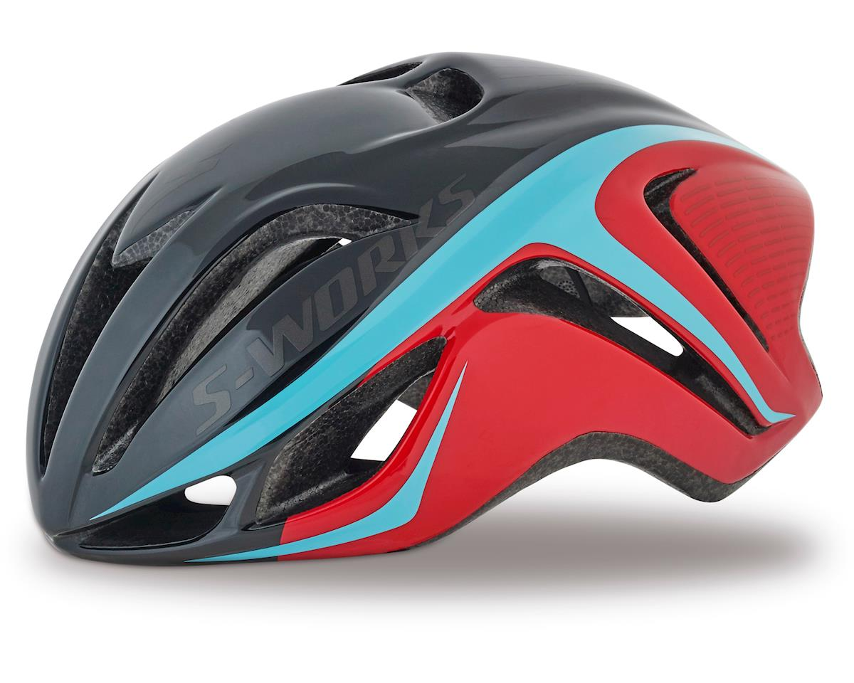 Specialized S-Works Evade (Red/Light Blue) (Small)