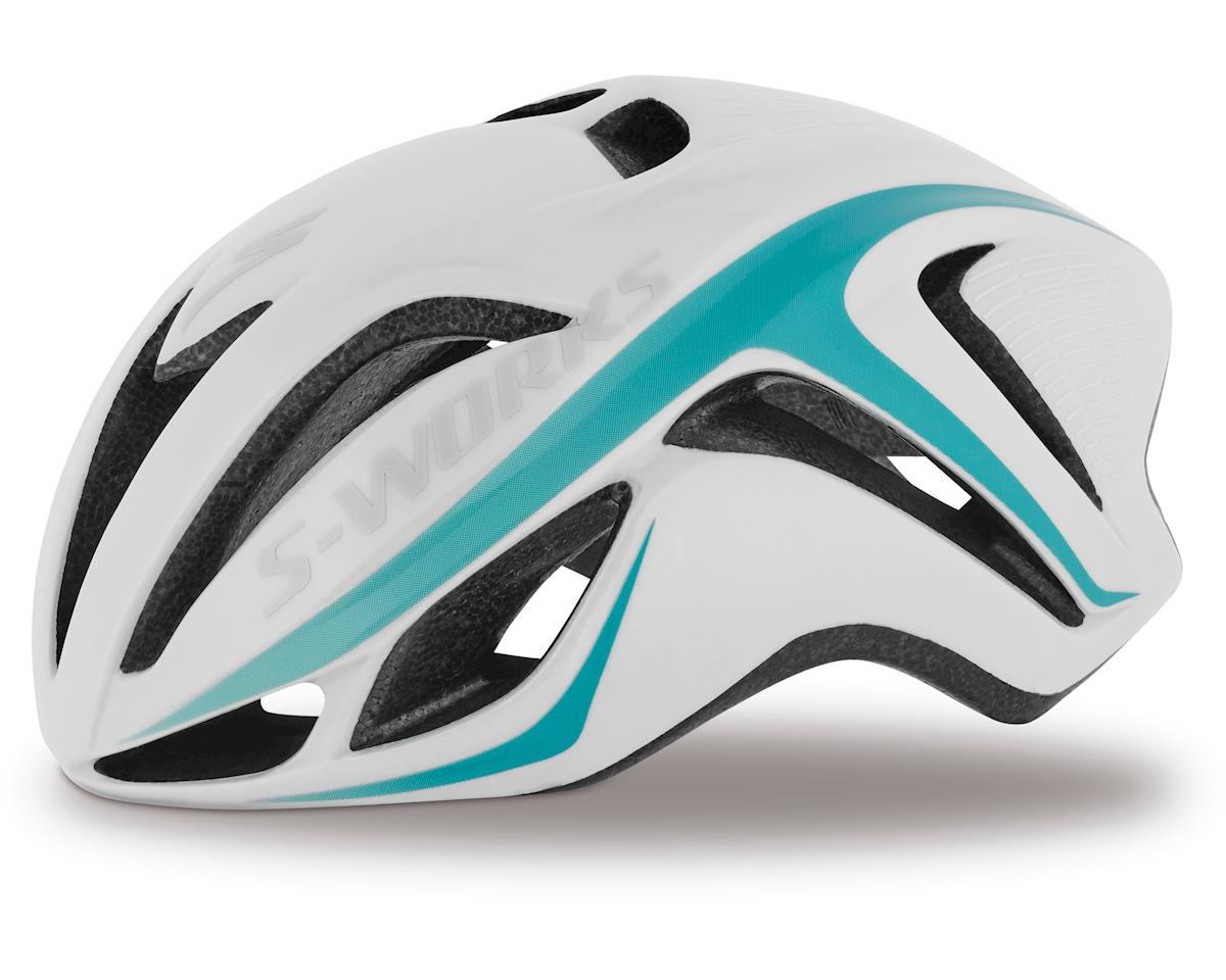 Specialized S-Works Women's Evade (White/Light Turquoise)