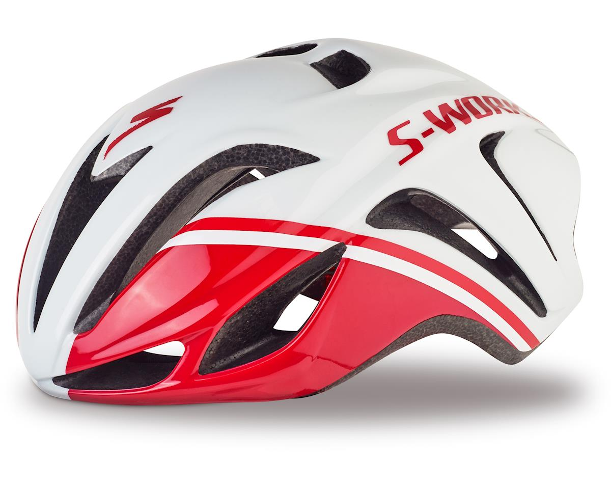 Specialized S-Works Evade Tri Helmet (Gloss Red/White) [60718-0902-P]    Clothing