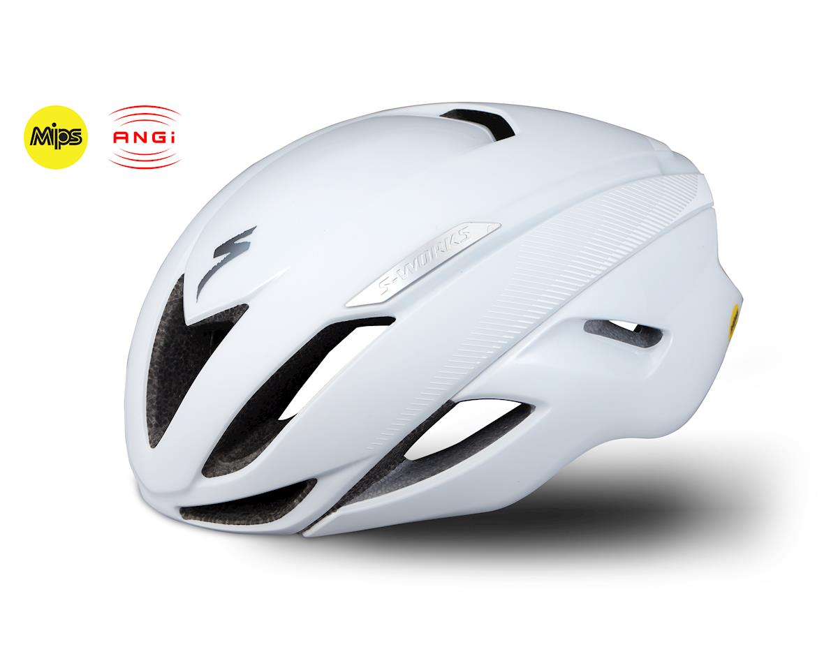 Specialized S-Works Evade Road Helmet w/ANGi (White)