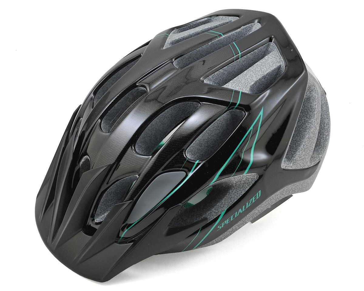 Specialized Sierra Women's Bike Helmet (Black/Emerald Green)