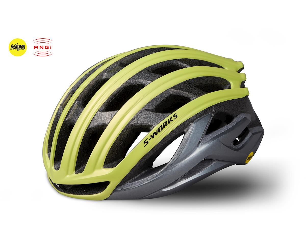 Specialized S-Works Prevail II Road Helmet w/ANGi (Ion/Charcoal) (S)