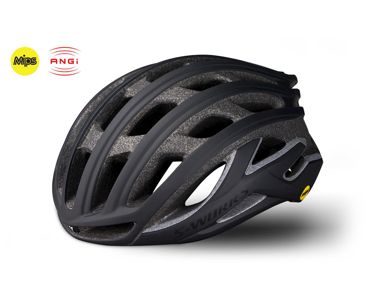 Specialized S-Works Prevail II Road Helmet w/ANGi (Matte Black)