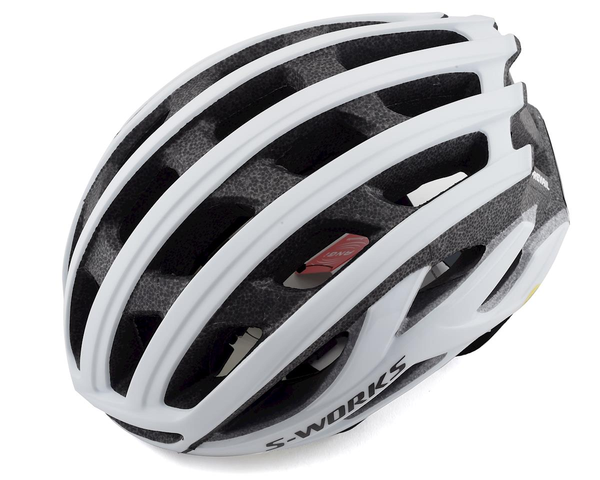 Specialized S-Works Prevail II Road Helmet w/ANGi (Matte White) (M)
