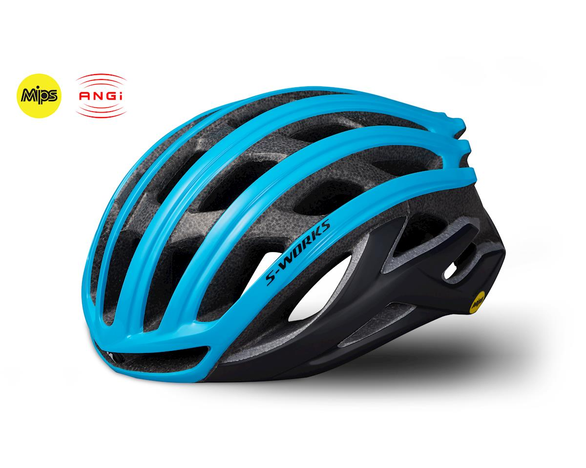 Specialized S-Works Prevail II Road Helmet w/ANGi (Nice Blue)