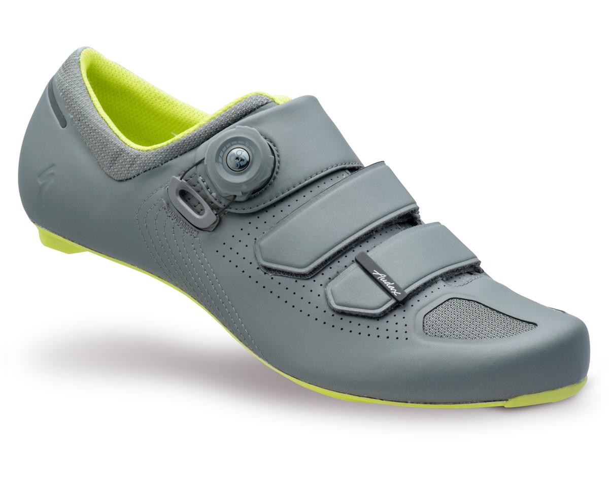 Specialized Audax Shoes (Warm Charcoal/Hyper Green) (38 Regular)