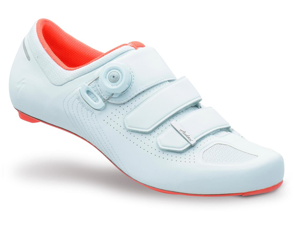 Audax Road Shoe (Baby Blue/Rocket Red