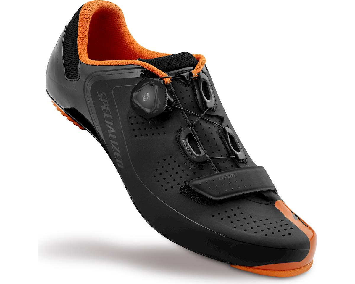 Specialized Expert Road Shoes (Black/Bright Orange) (38 Regular)