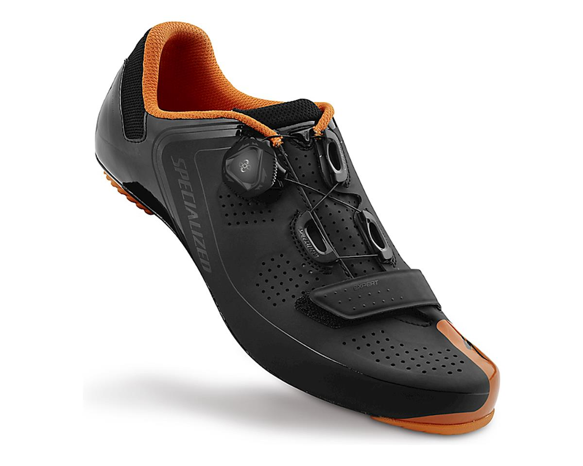 Specialized 2016 Expert Road Shoe (Black/Bright Orange)