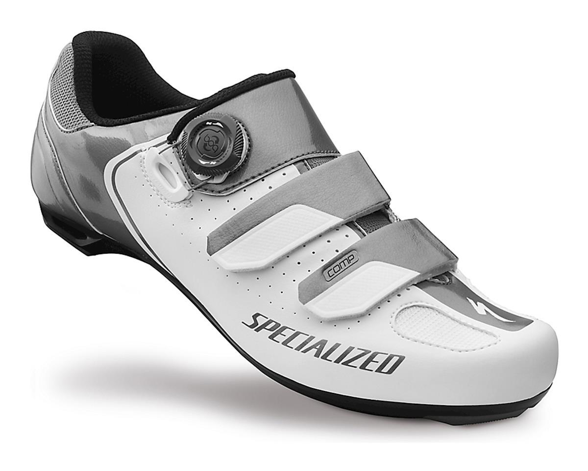 Specialized 2016 Comp Road Shoe (White/Titanium) (45.5)