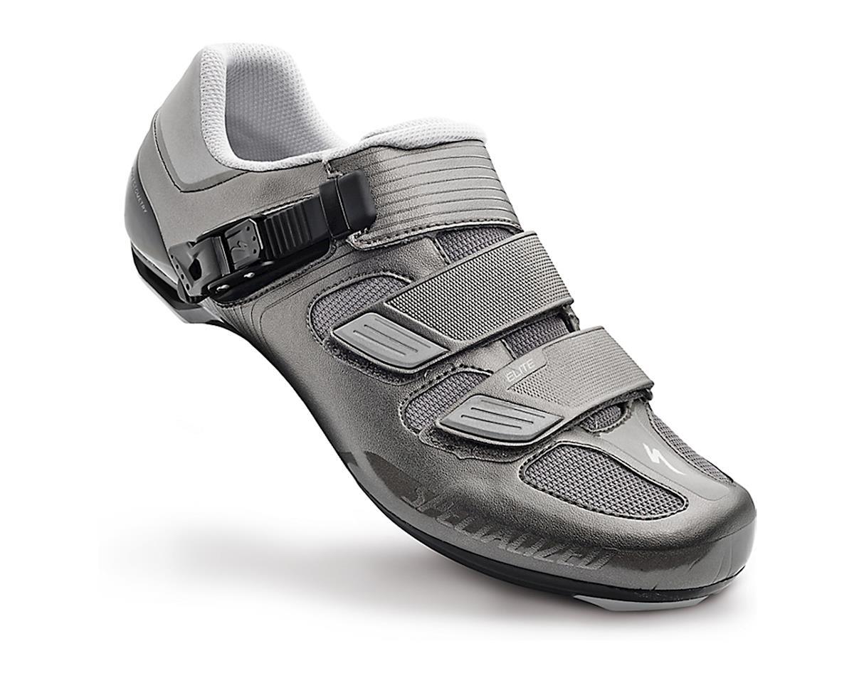 Specialized 2016 Elite Road Shoes (Titanium Reflective) (42)