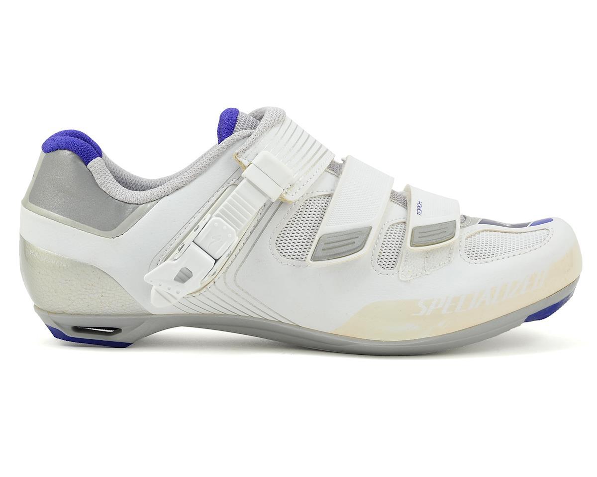 Specialized 2016 Torch Women's Road Shoe (White/Indigo Reflective)
