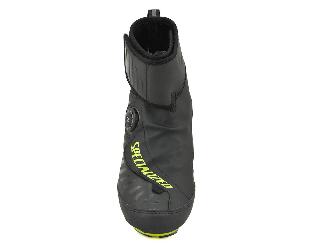 Specialized Defroster Road Shoe (Black/Hyper Green Reflective) (36)