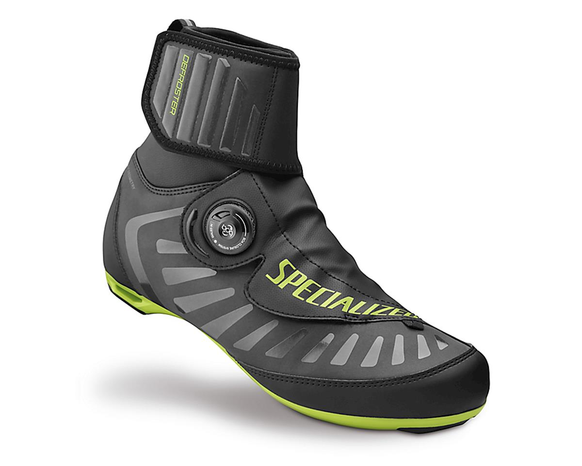 Specialized Defroster Road Shoe (Black/Hyper Green Reflective)