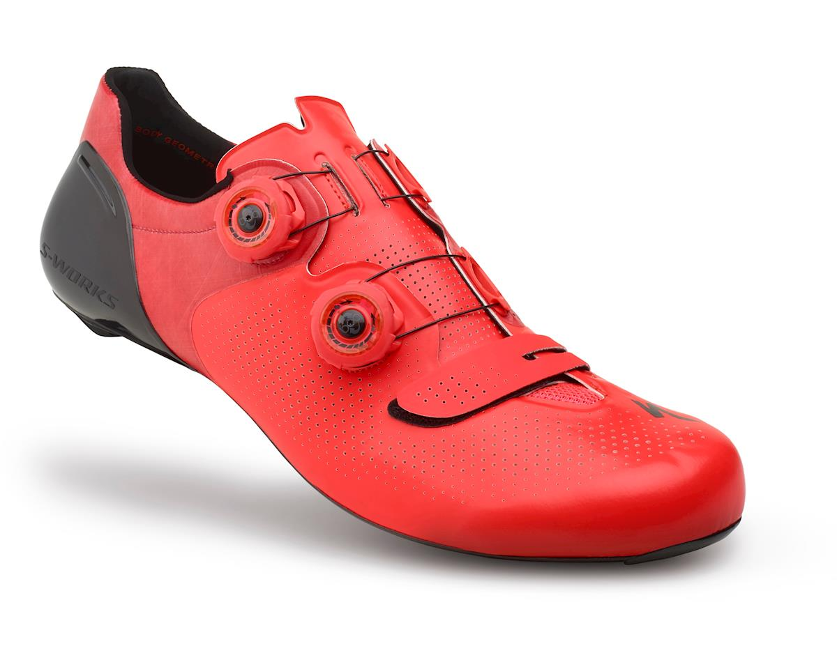 79d833ec3291 Specialized S-Works 6 Road Shoes (Rocket Red Dipped) (39.5)  61016-90395