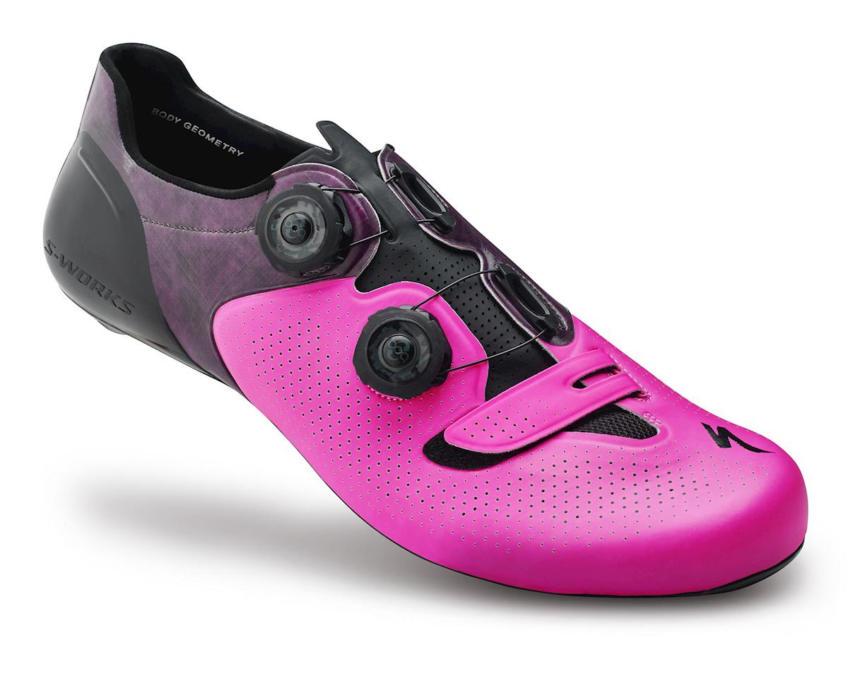 Specialized S-Works 6 Road Shoe (Neon Pink)