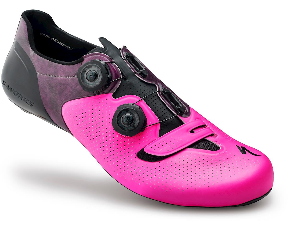 Specialized S-Works 6 Road Shoes (Neon Pink) (45.5 Regular)