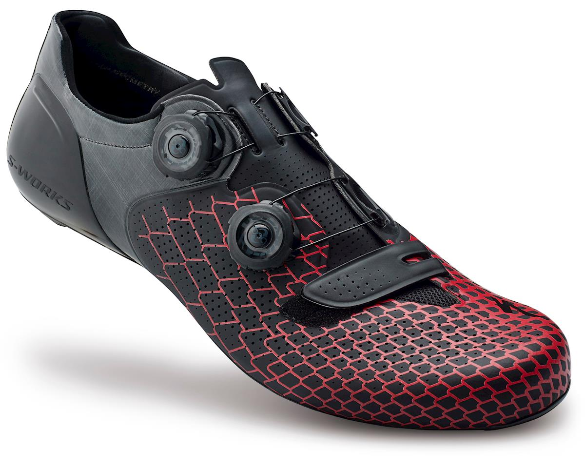 Specialized S-Works 6 Road Shoes (Black/Red) (44 Regular)