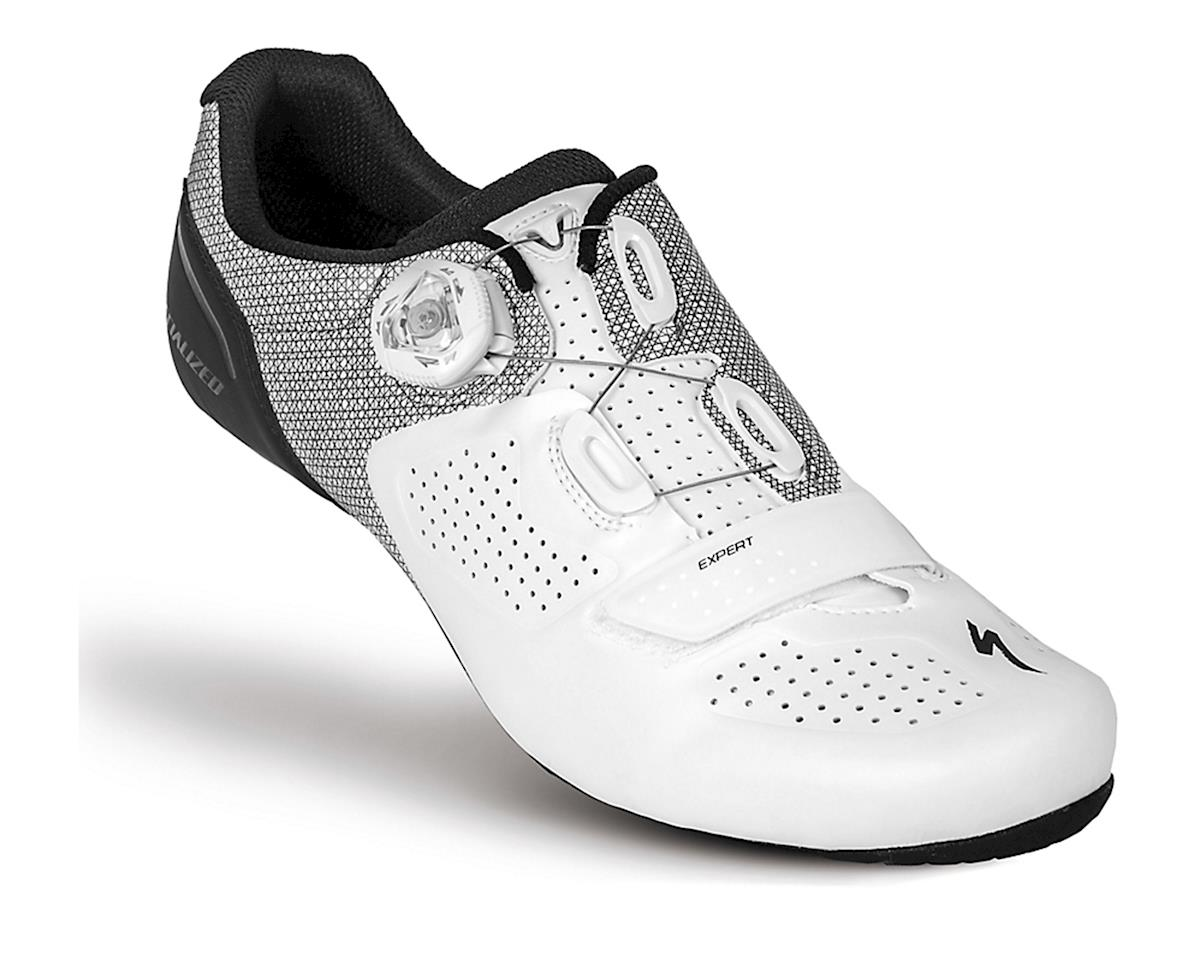 Specialized Expert Road Shoe (White/Black) (45)