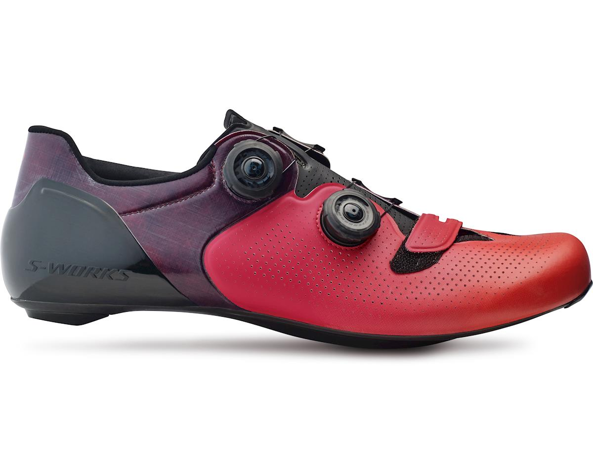 Specialized S-Works 6 Road Shoes (Red Fade) (45.5 Regular)