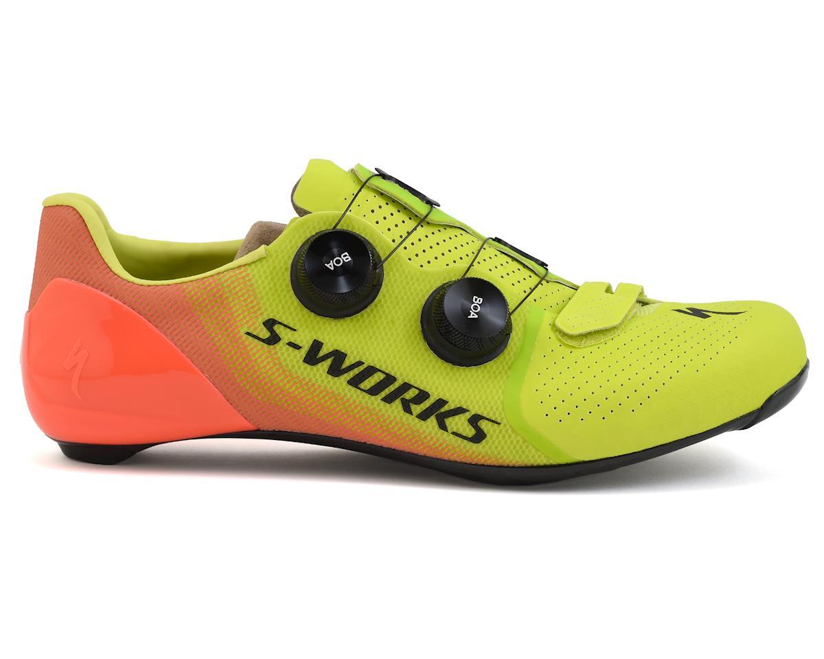 Specialized S-Works 7 Road Shoes (Hyper/Acid Lava)