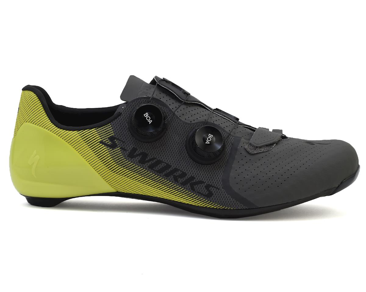 S-Works 7 Road Shoes (Ion/Charcoal)