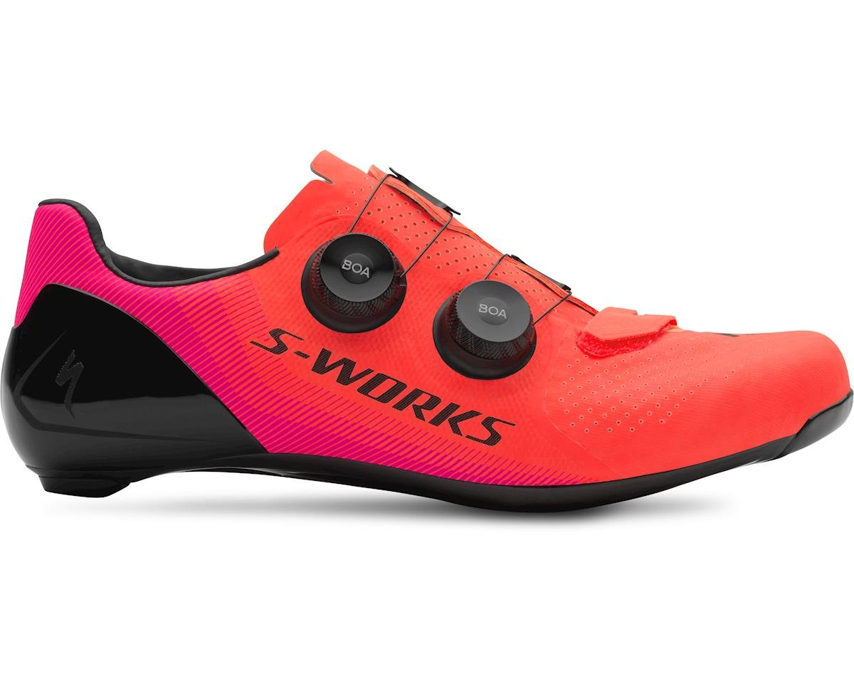 Specialized S-Works 7 Road Shoes (Acid Lava/Acid Purple LTD)