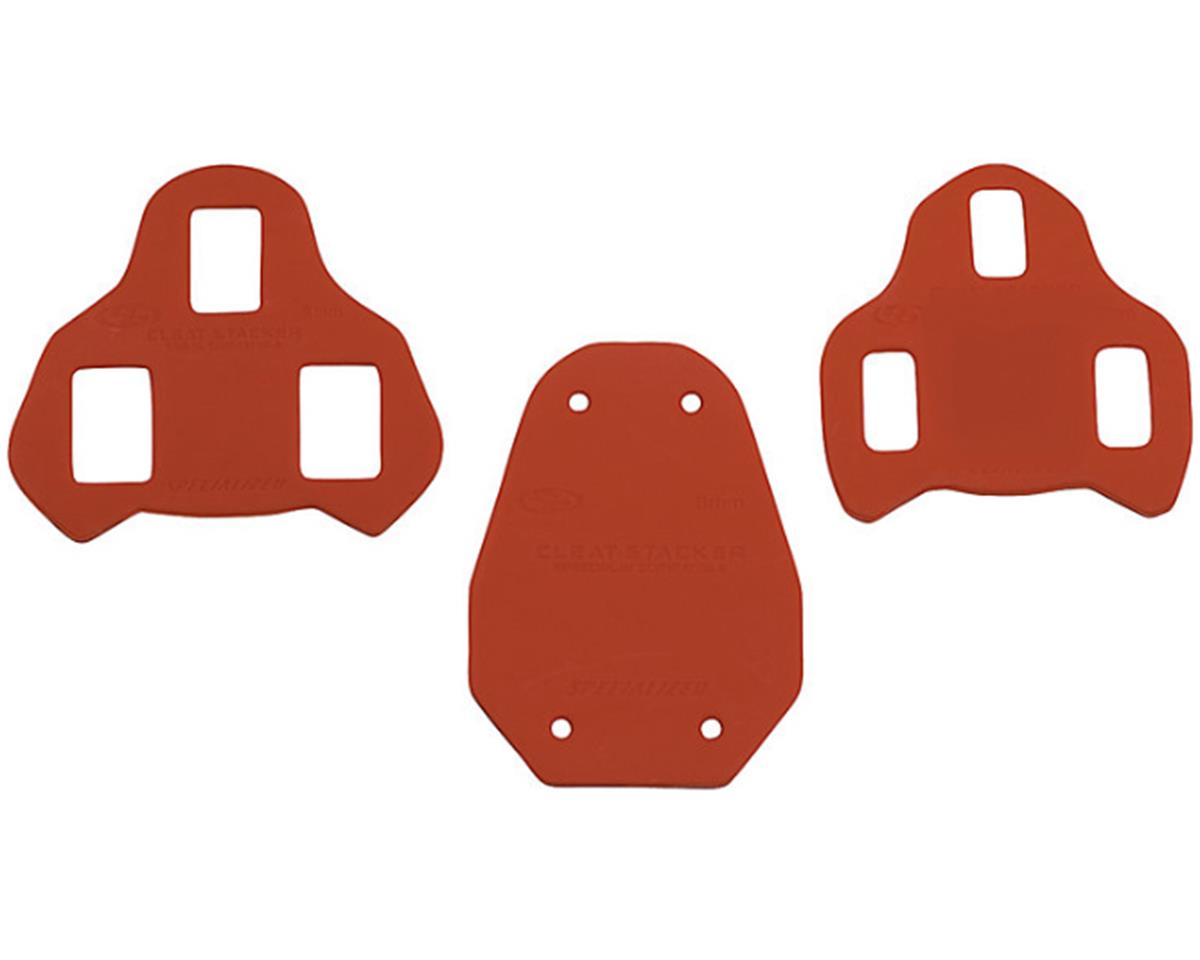 Specialized Body Geometry Cleat Stacker (Red) (3mm KEO) (4 Pack)