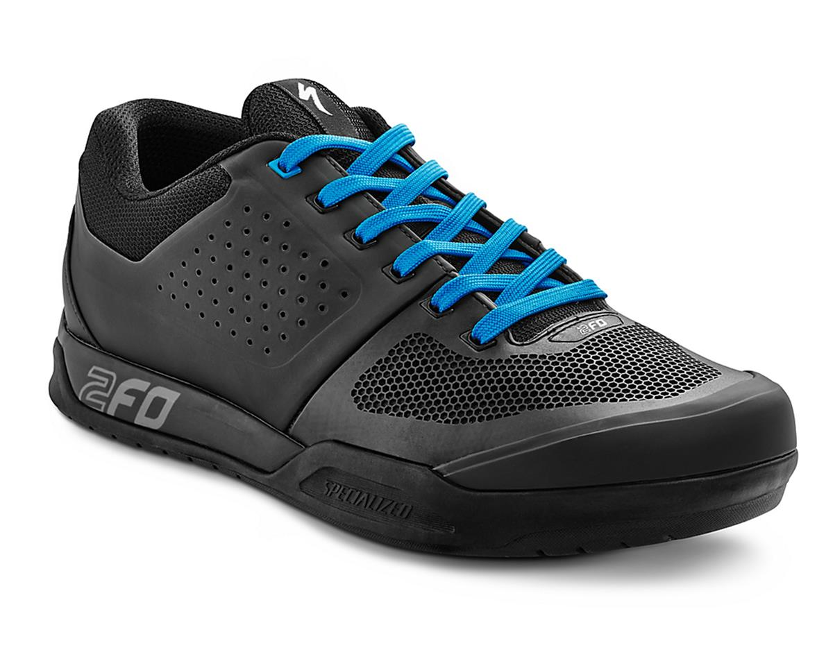 Specialized 2016 2FO Flat MTB Shoe (Black/Neon Blue)