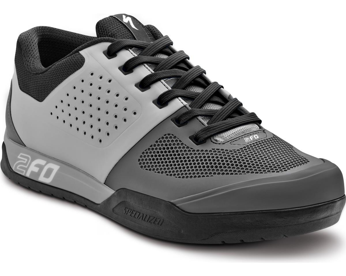 Specialized 2FO Flat Mountain Bike Shoes (Light Grey/Grey) (38 Regular)
